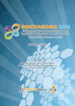 Libro de actas Innovagogía 2016